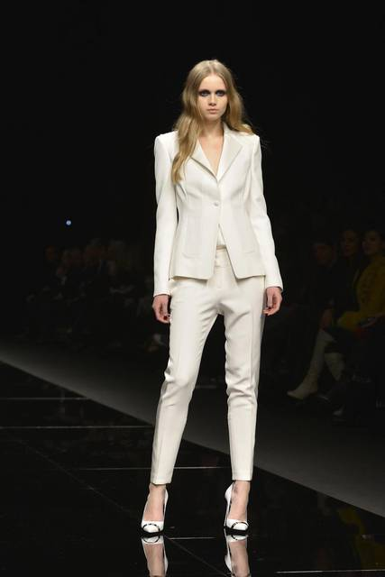 tailleur bianco