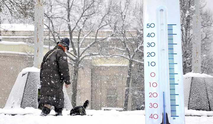 Meteo: lunedì gelo polare e freddo artico. È arrivato Ovidio.