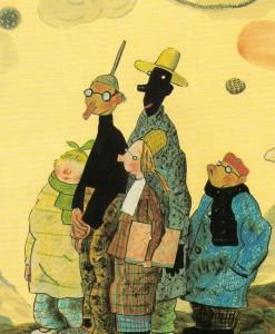 Illustrazione di Wolf Erlbruch